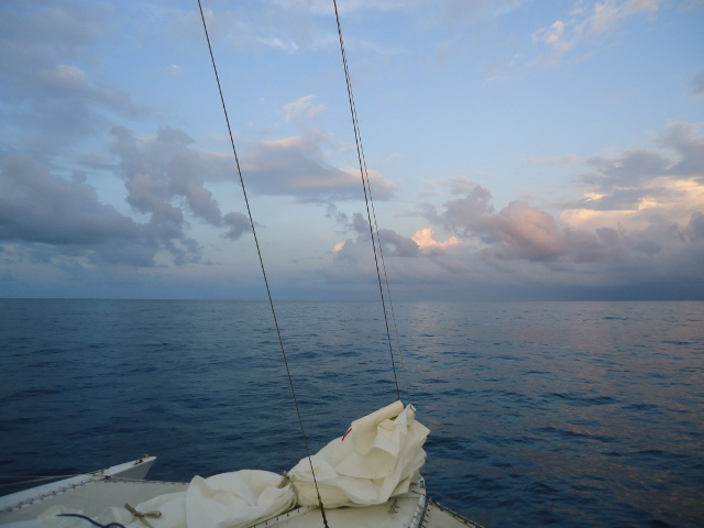 Looks like smooth sailing  ahead for us...or should we say motor-sailing   :-)  Nice calm seas!