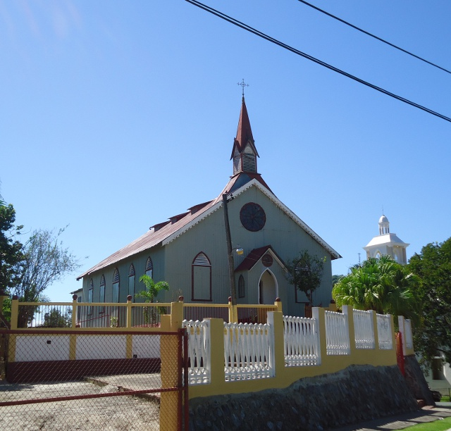 "The ""old"" town church built in the 1860's"