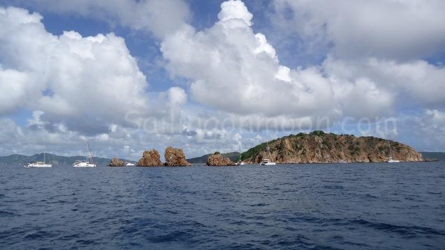 The Indians, a popular snorkel/dive sight off of Norman Island, BVI