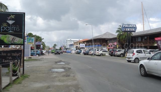 Street, town of Simpson Bay.