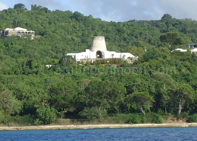 This sugarmill looks like it was turned into a resort or someone's house!
